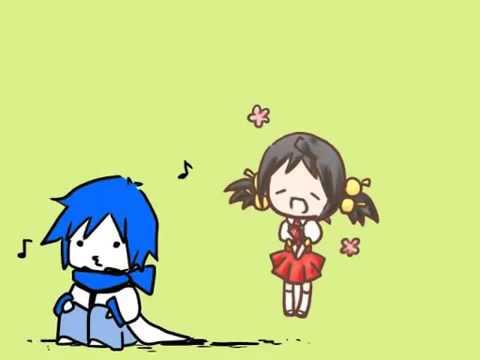 Kaai Yuki and KAITO  Ievan Polkka 【VOCALOID】