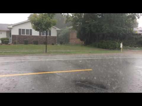 Northeast Minneapolis open streets downpour