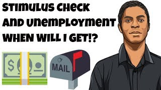 When are unemployment benefits & stimulus check coming to you? (Stimulus bill)