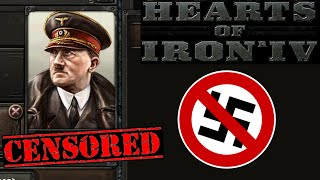 German Versions Of Hearts Of Iron 4 Censor Hitler