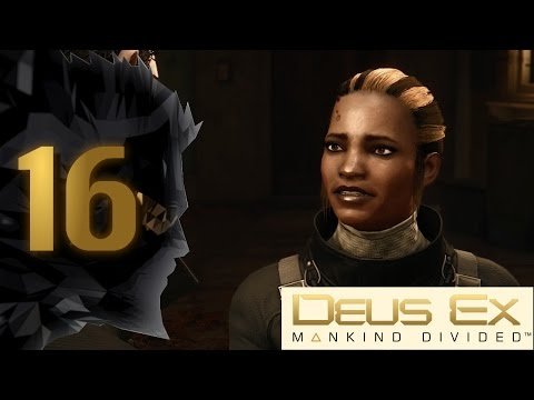 Crime Scene Investigation - Deus Ex: Mankind Divided [BLIND] Pacifist/Stealth Part 16 - Let's Play