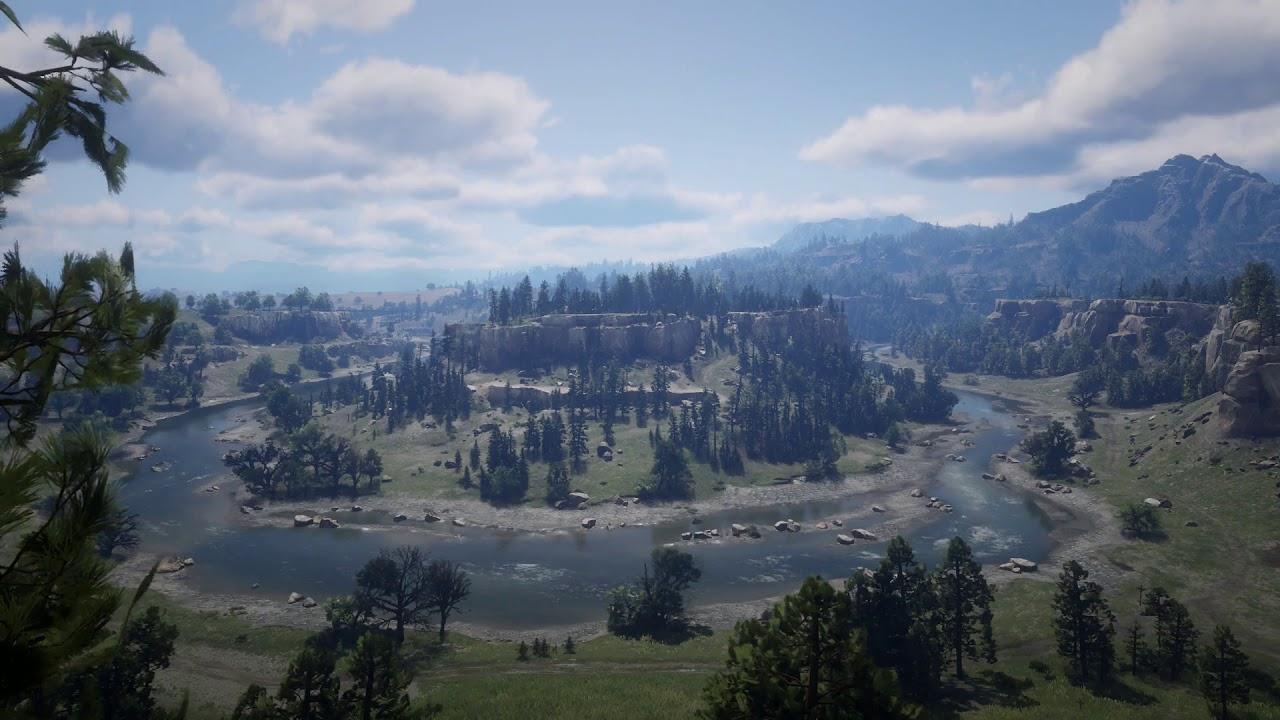 Red Dead Redemption 2 Rdr2 River Live Wallpaper Sound Youtube