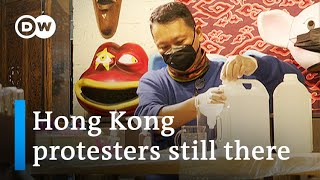 Coronavirus inspires Hong Kong activists to get creative | DW News