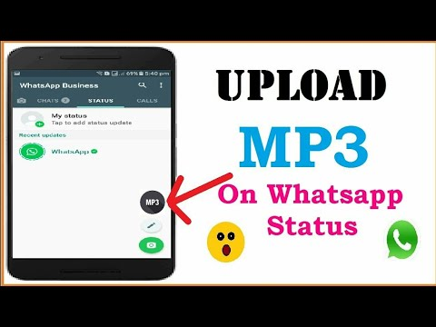 How to Share MP3 Audio files on Whatsapp