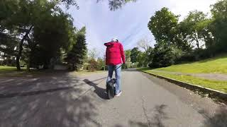 Insta360 One X vs One - Riding EUC Gotway MSuper X