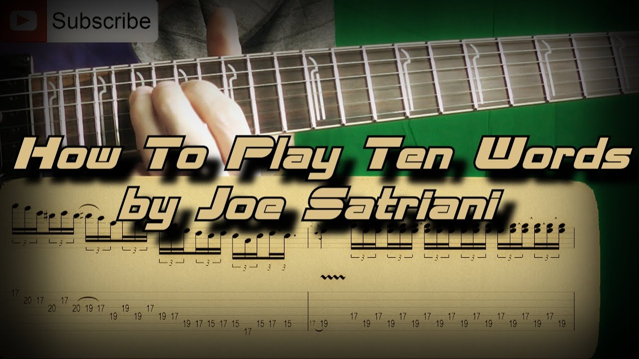 how to play joe satriani if i could fly