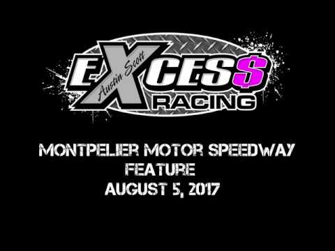 Montpelier Motor Speedway - Feature - August 5, 2017 (First Career Feature Win)