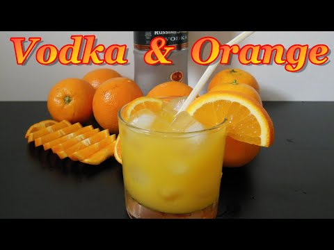 Vodka & Orange Juice-simple Recipe Of The Refreshing Summer Drink