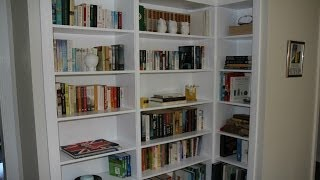 Built In Bookshelves Reveal