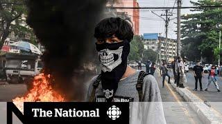 Concern Myanmar unrest could erupt into civil war