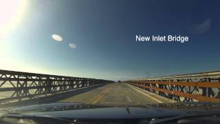 Drive From Nags Head, NC To Avon, NC In 2 Minutes - OBX Timelapse - Hatteras