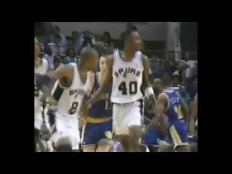NBA on NBC Intro - 1991 NBA Playoffs - Warriors vs. Spurs Game 2
