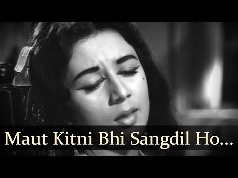 Maut Kitni Bhi Sangdil Ho Magar Zindagi  Nanda  Sunil Dutt  Aaj Aur Kal  Bollywwod Songs  Ravi