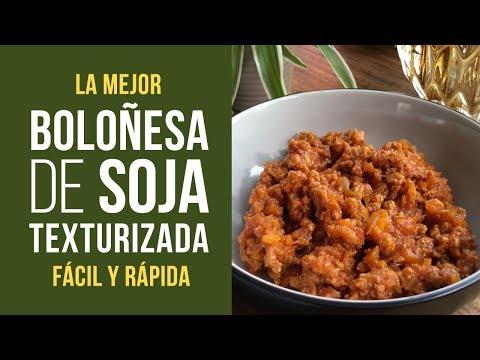 Boloñesa de Soja Texturizada
