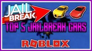 Top 5 Jailbreak Cars in ROBLOX