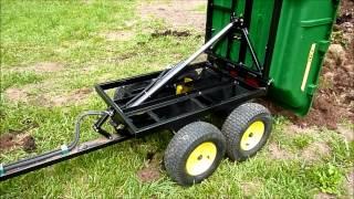 John Deere 17P Hydraulic Tandem Dump Cart