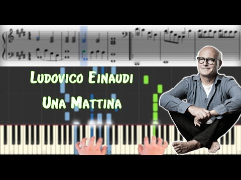 Ludovico Einaudi - Una Mattina | Sheet Music & Synthesia Piano Tutorial thumbnail