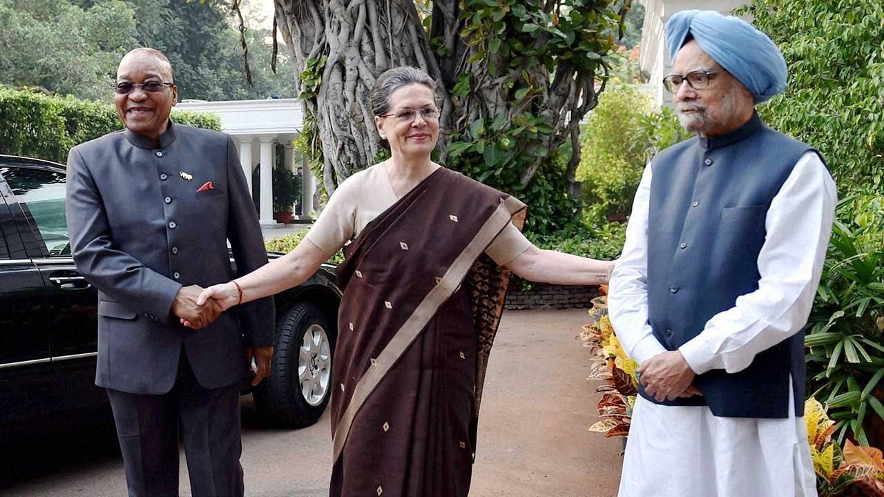 sonia gandhis 10 janpath is bigger than pm narendra modi