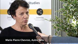 Marie - Pierre Chevron @Science Comm 2019