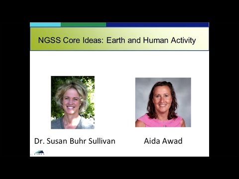 Next Generation Science Standards Core Ideas: Earth and Human Activity