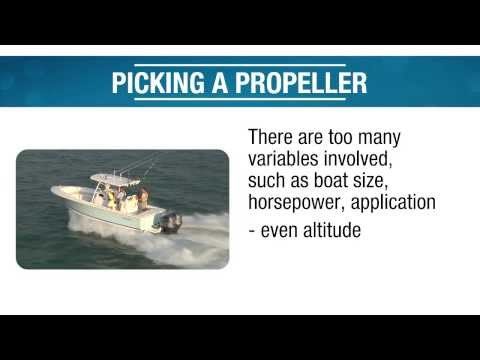 Picking a Propeller