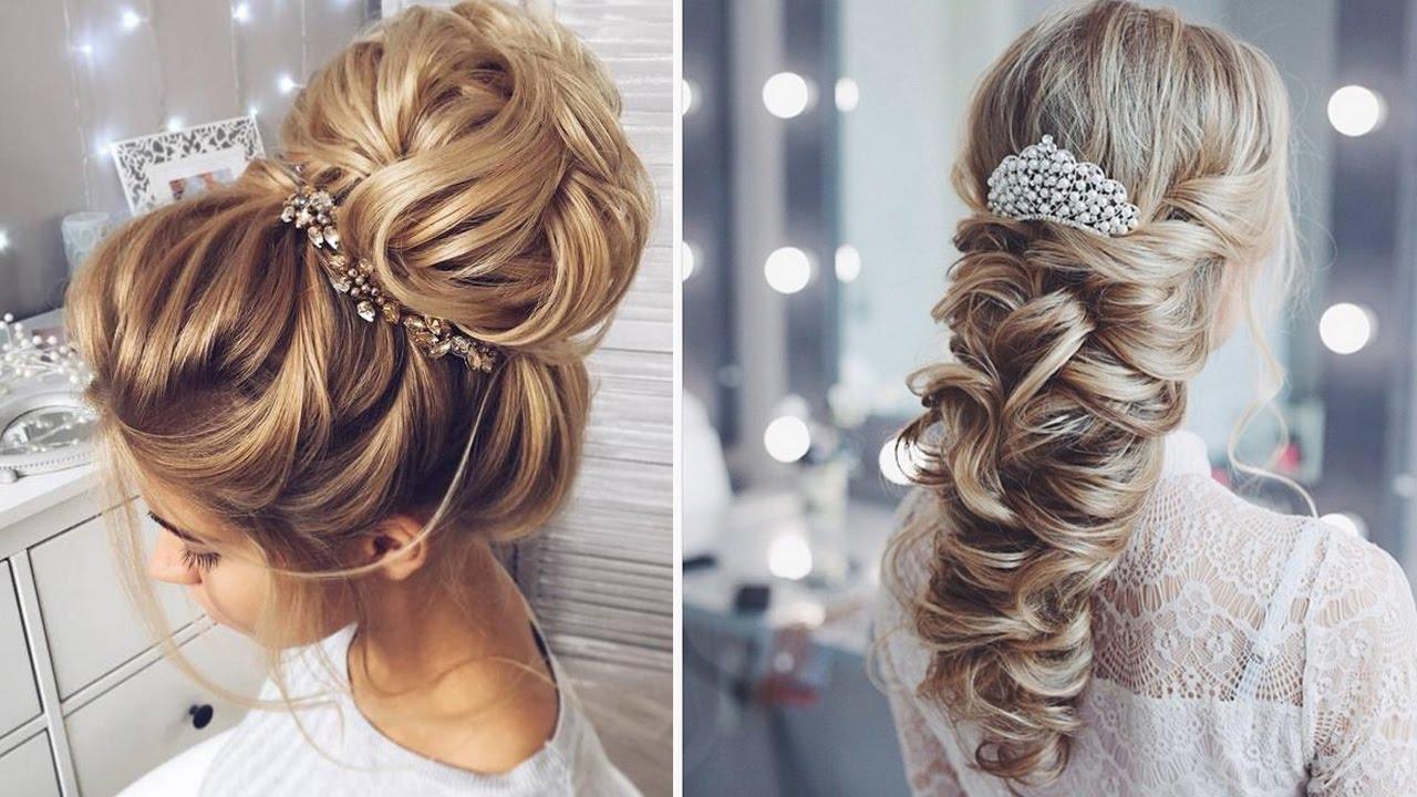 peinados para boda cabello largo peinados de fiesta con el pelo suelto - Peinados Pelo Largo Suelto