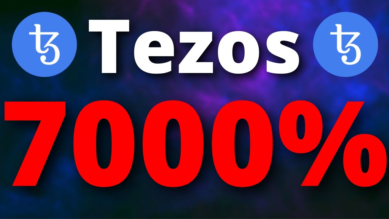 Tezos WILL 7000% HERE IS WHY?? – Tezos Price Predictions – SHOULD I BUY Tezos Coin?