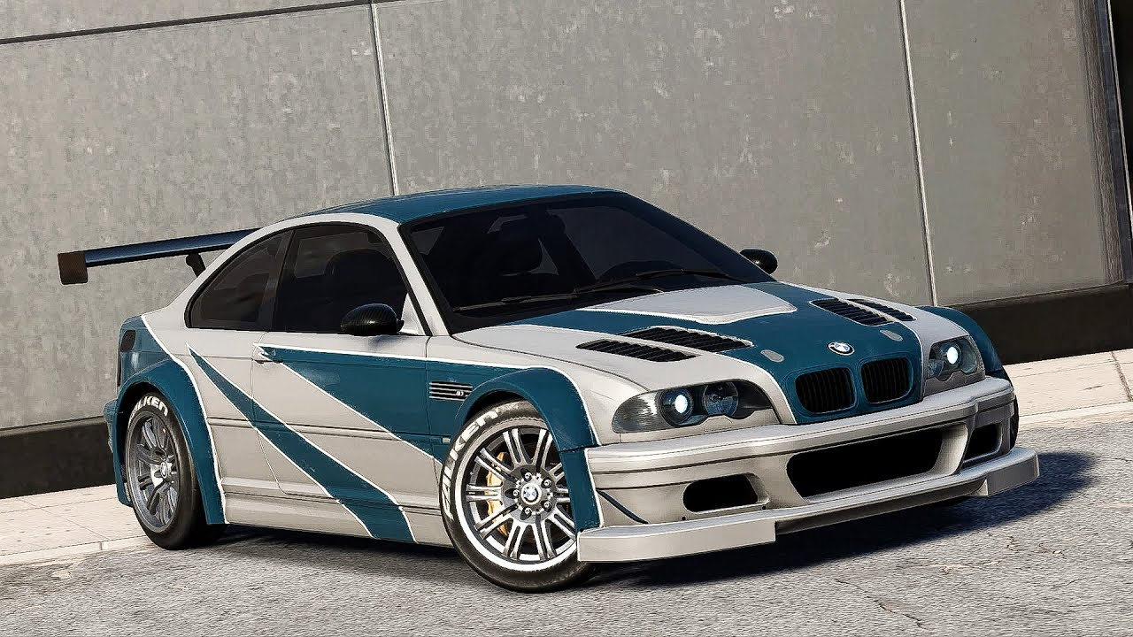 Need For Speed Payback Bmw E46 M3 Gtr