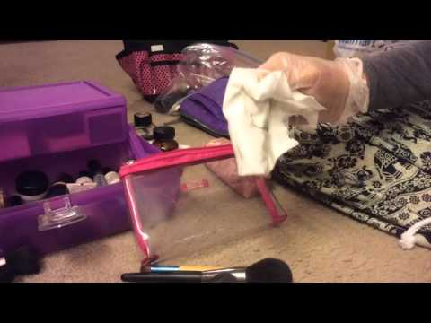 ASMR Cleaning And Organizing My Makeup...No Talking...Fast Paced