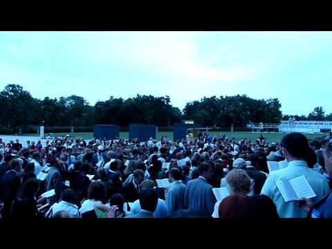 Berlin, Germany International Convention 2009 Singing Kingdom Melodies Outside Stadium