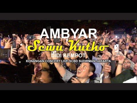 Download Lagu Ambyar Bersama Sewu Kutho Nya Didi Kempot Live Scbd