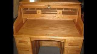 Handmade Rolltop Desk