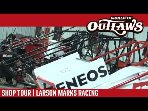 Where Are Sprint Cars Born | Larson Marks Racing Shop Tour