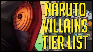 Naruto Villains Tier List