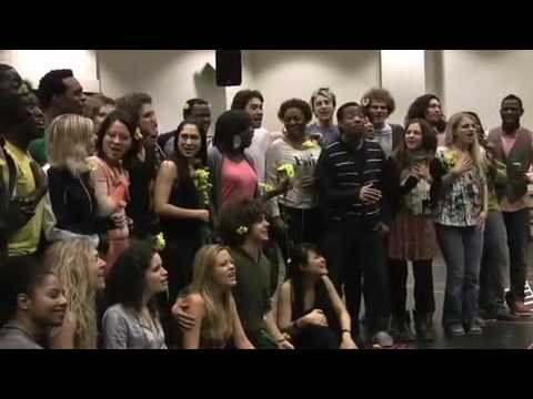 New cast of the Broadway Musical Hair - Let the sun shine in (Sneak peak!)