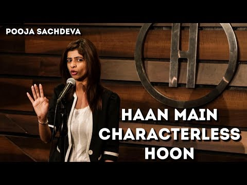 Haan Main Characterless Hoon - Pooja Sachdeva - Hindi Poetry - The Habitat