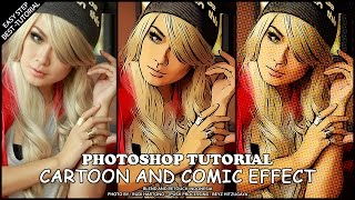 Create Easy Cartoon Effect Photoshop Tutorial