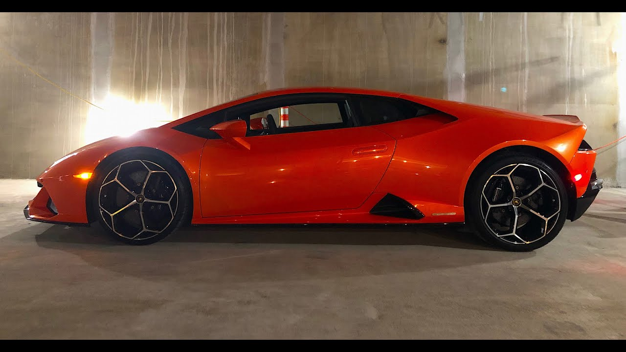 2020 Lamborghini Huracan Evo One Take