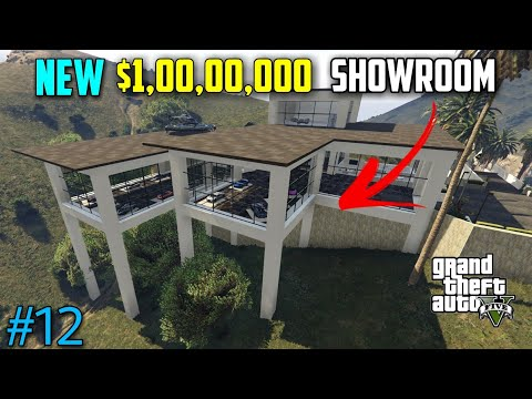 ഒരു കോടിയുടെ SHOWROOM | GTA V SERIES PART - 12 | INFINITE GAMERS |
