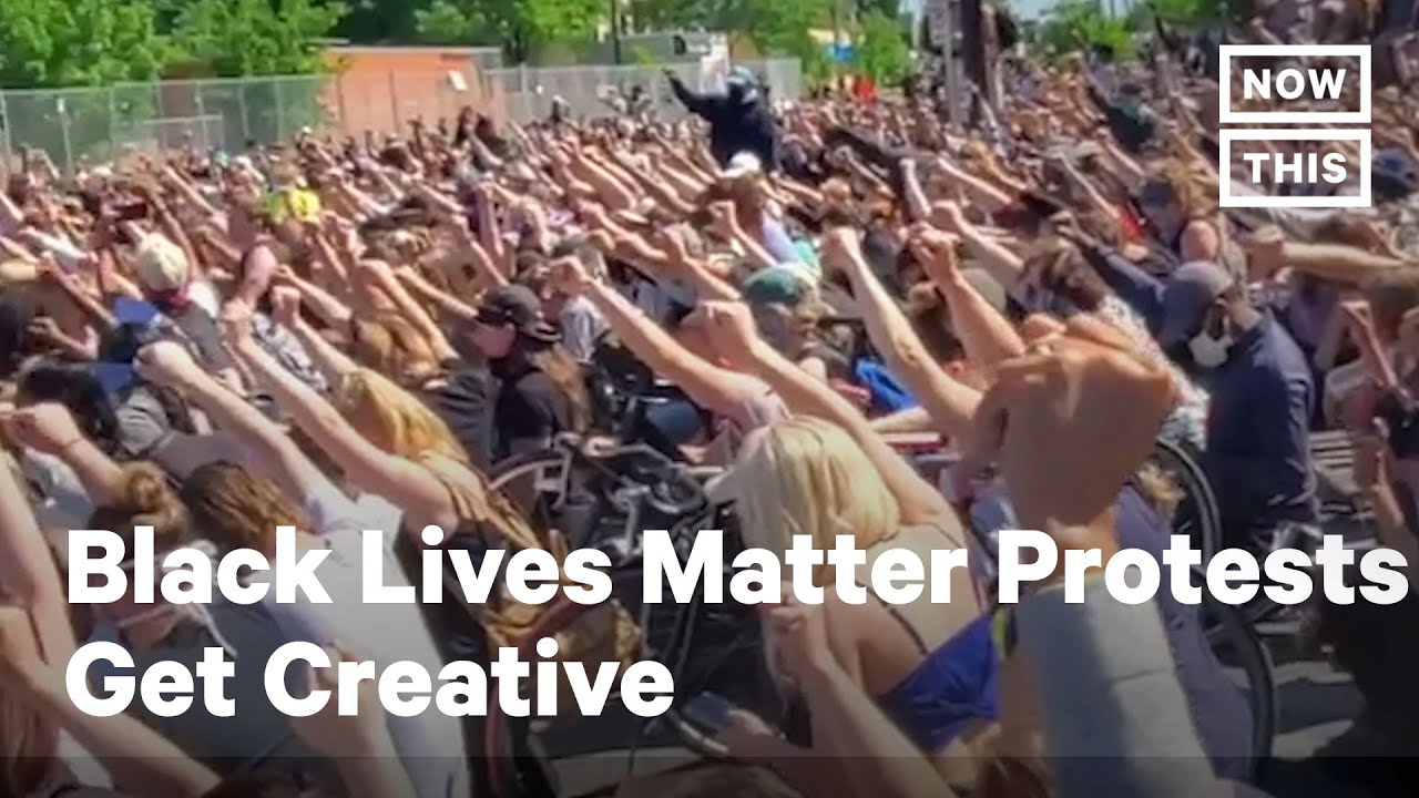 Peaceful Black Lives Matter Protesters Get Creative | NowThis