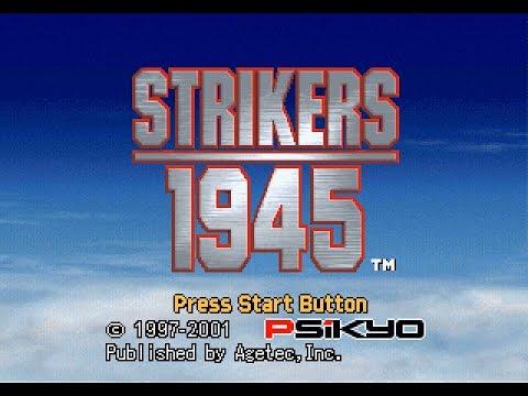 PSX Longplay [230] Strikers 1945 (2 Player)