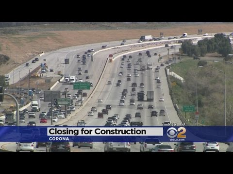 91 Freeway To Be Shut Down For 55 Hours -- Ready For Coronageddon?