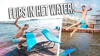 DUBBELE SALTO'S HET WATER IN Ft. Enzo Knol, Quin, Tantum | Boazvb