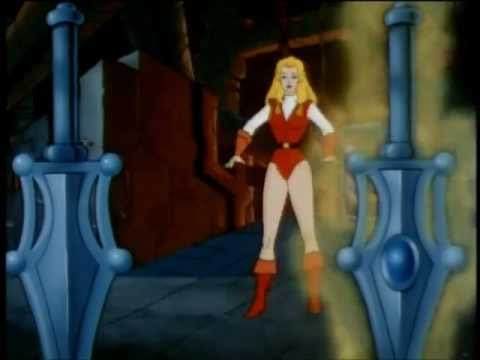Primeira transformação de Adora em She-Ra
