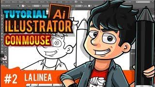 Como hacer una ilustración en adobe illustrator desde cero  - tutorial 2