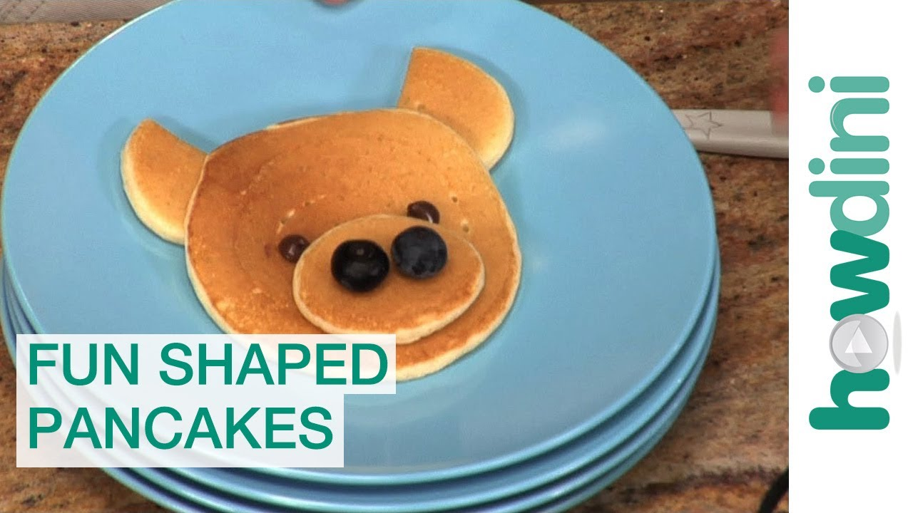 How to make pancakes in fun shapes for kids youtube ccuart Images
