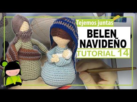 BELEN NAVIDEÑO AMIGURUMI ♥️ 14 ♥️ Nacimiento a crochet 🎅 AMIGURUMIS DE NAVIDAD!