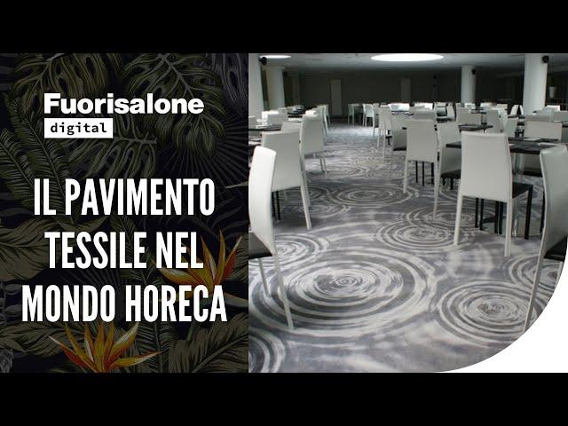 Il pavimento tessile nel mondo HoReCa
