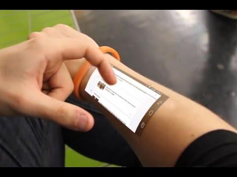 'Cicret Bracelet', una tablet en nuestra piel