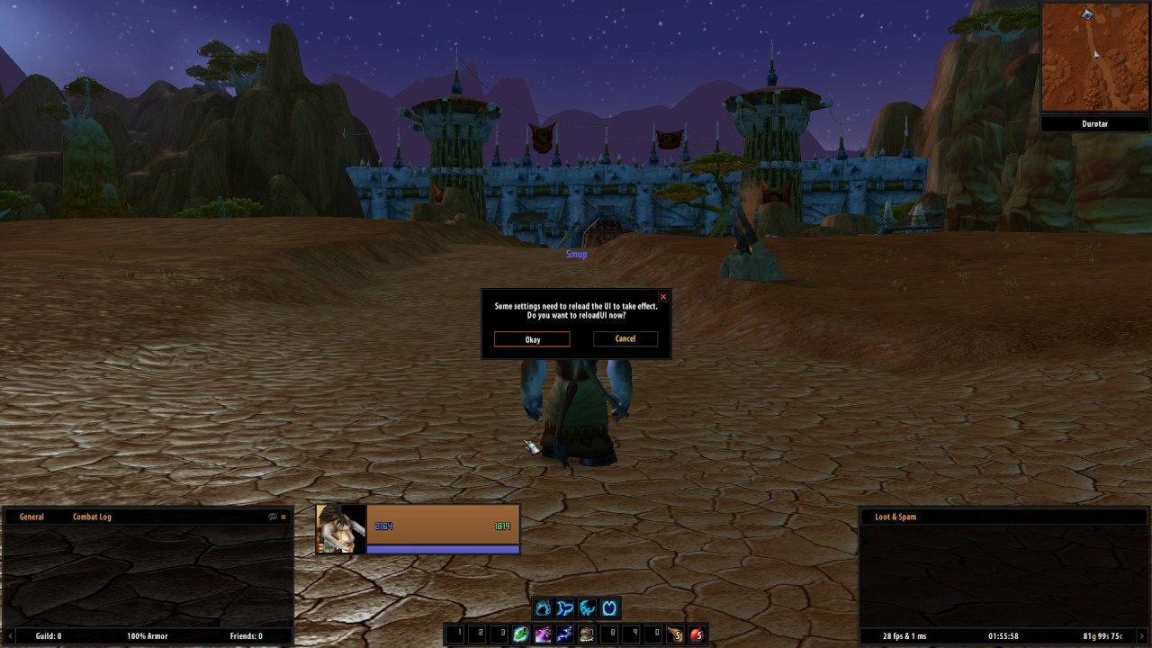 Addon] pfUI - An ElvUI inspired Addon entirely written from